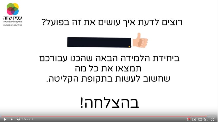 הנעה לפעולה-בסרטון